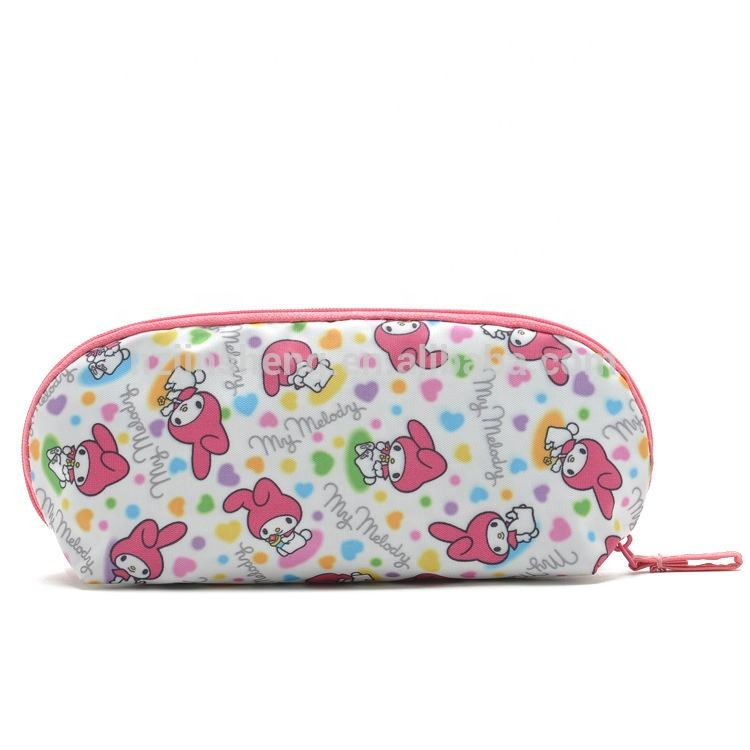zipper pencil case Pen Pouch Stationery Storage Bag