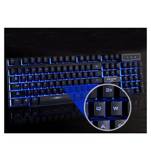 GX50 R8 Sunspended Sleutels Light Bedraad Toetsenbord Waterdicht Kantoor Computer USB Backlit Gaming Keyboard Nieuwe Hot B0004