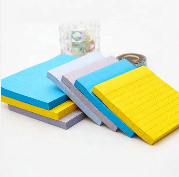 custom wholesale super colored paper 3x3 post memo pad sticky notes stick it note pad