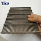 0.25mm 0.5mm Slot Sieve Bend Screens Vee-Wire Wedge Wire Rotary Screens