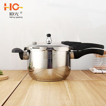 Hot sell Gas and Induction Cooker Multi 3 layers polished pot stainless steel pressure cooker