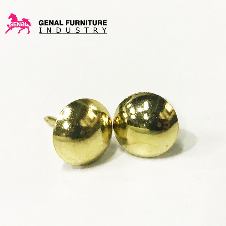 Furniture upholstery iron gold wholesale bubble sofa nail decorative