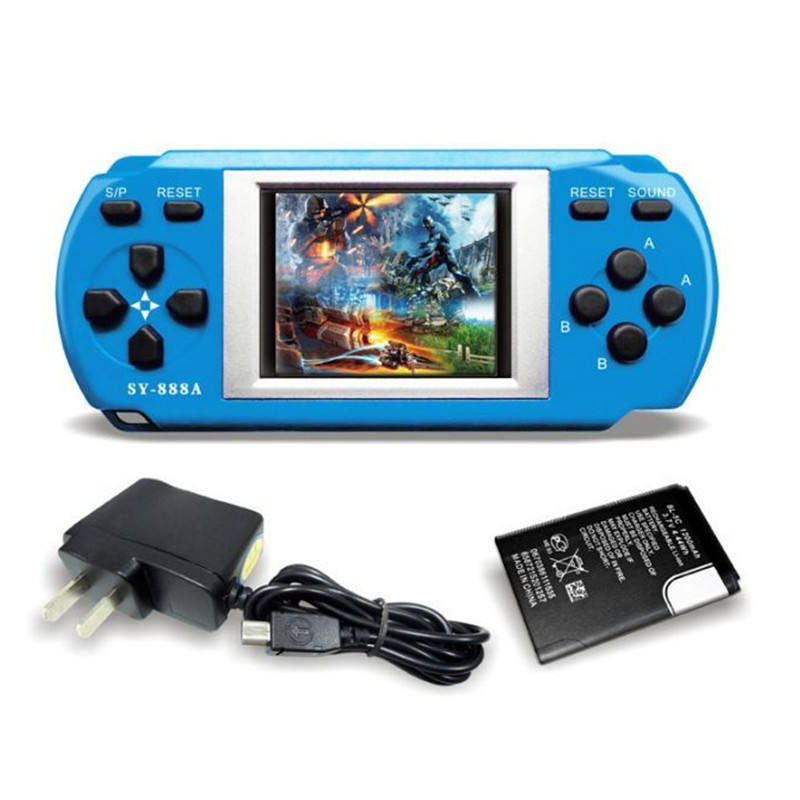 288 in 1 electric portable handheld video game for kids