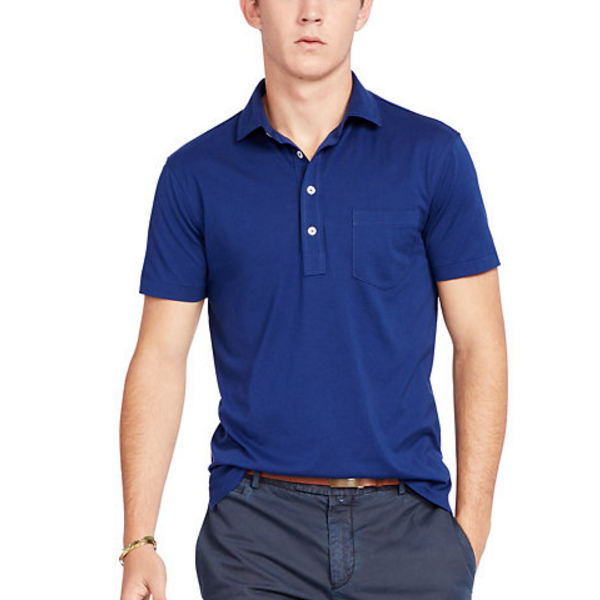 Groothandel <span class=keywords><strong>jiangxi</strong></span> Middellange spread kraag vier-knop extended knoopsluiting poloshirt