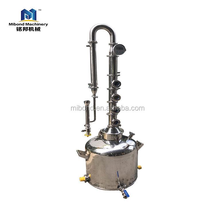 Китай промышленной OEM 50-500L медь дистиллятор