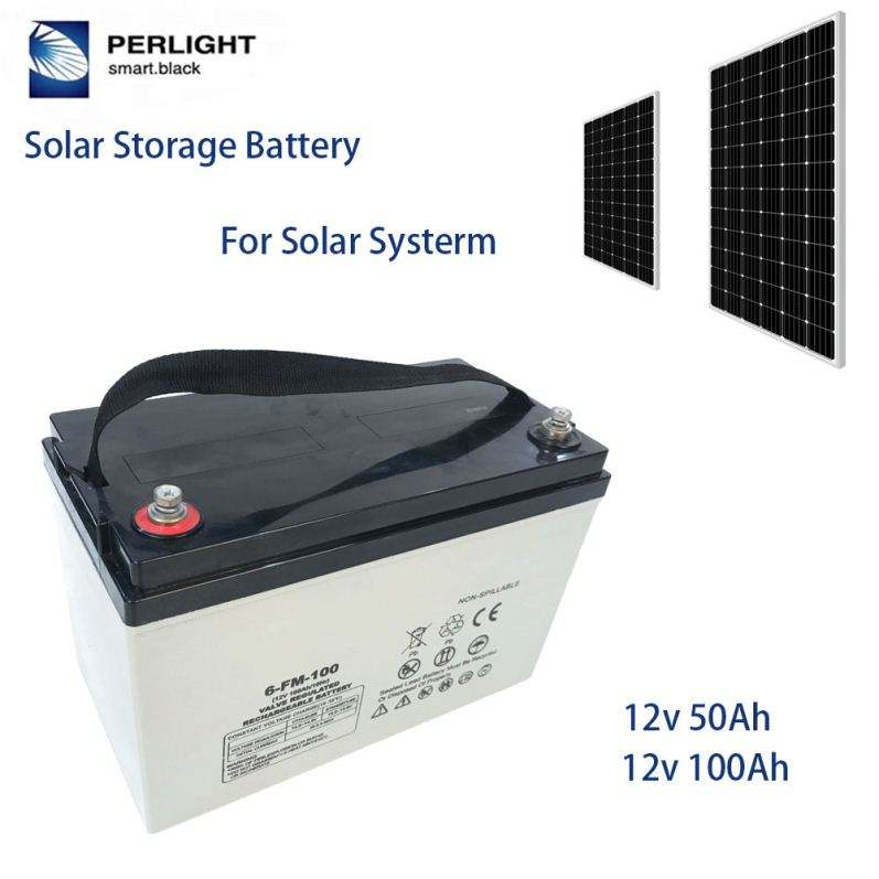 Deep Cycle Long Life Solar Energy Storage Gel Battery 12V 100Ah 150Ah 200Ah 250Ah
