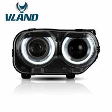 Vland Challenger Headlight for 2015 2016 2017 2018 2019 for Challenger LED Head Lamp wholesale price