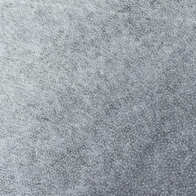 100% полиэстер 1025hf нетканый галстук подкладка галстук бумага Interlining