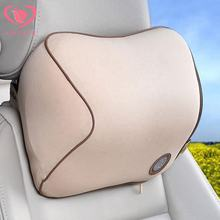 New Car Seat Headrest Pad Memory Foam Pillow Head Neck Rest Support Cushion