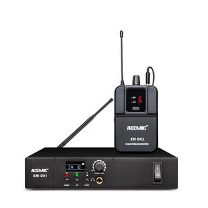 ACEMIC EM-D01 Wireless In Ear Monitor system Mono Professional Stage UHF Simultaneous Interpretation Low Price