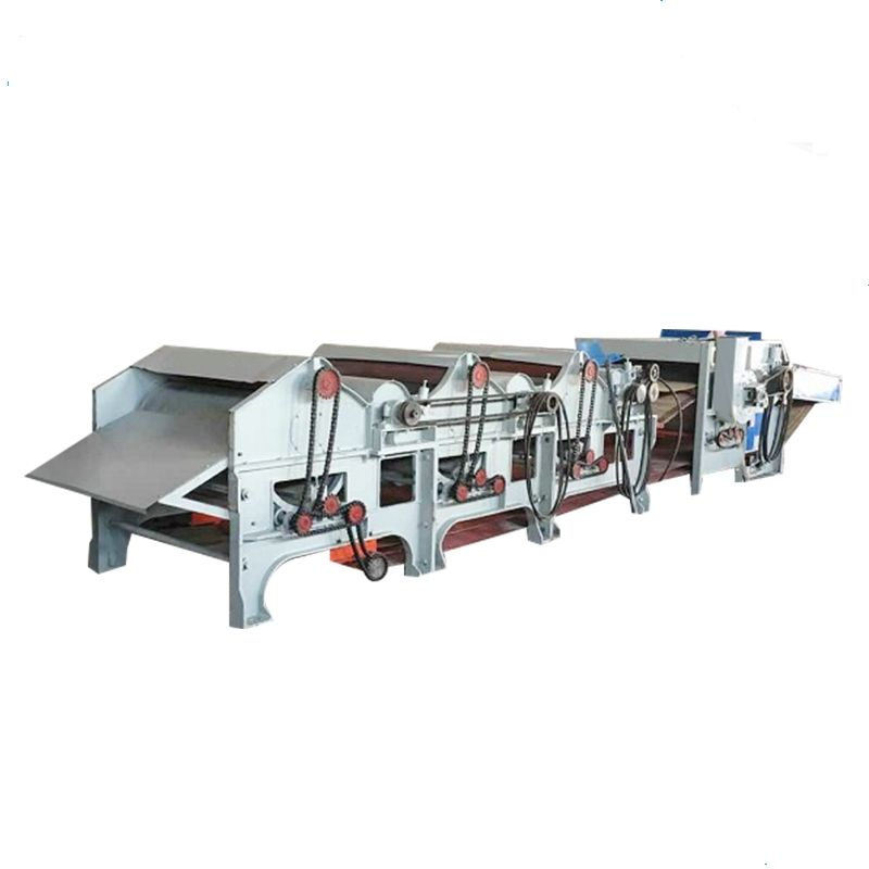 Cheap three roller cotton waste recycling machine textile waste recycling machine