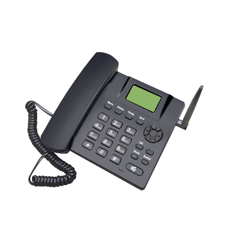 GSM Cordless Telephone Sets for Home or Office Use with SMS Function