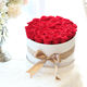 women valentines day mother's day gift 4-5cm aa grade preserved fresh roses head flower in gift box