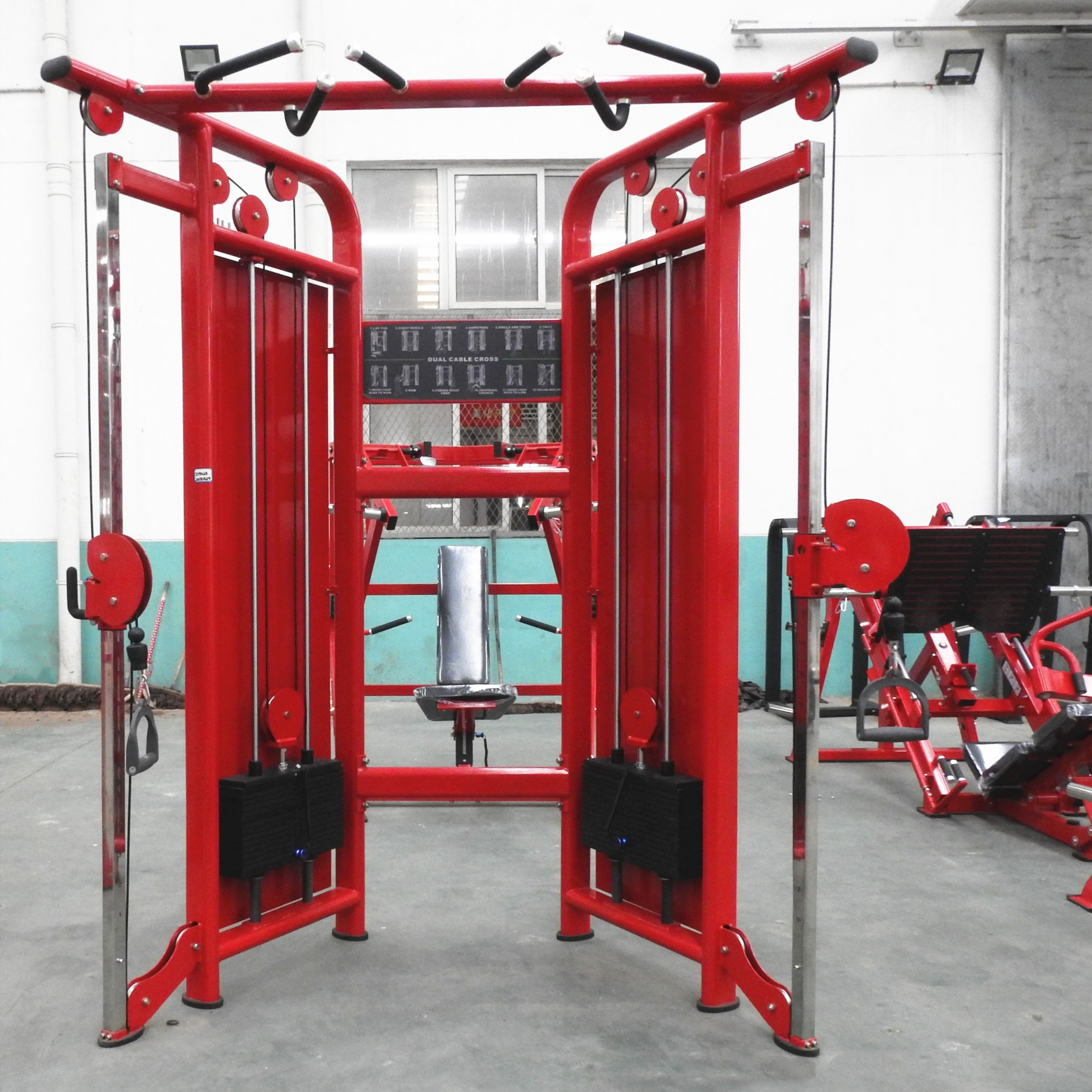 Life Fitness Gym Multi Fungsional Pelatih Dual Adjustable Pulley <span class=keywords><strong>Mesin</strong></span>