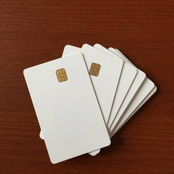 Formato <span class=keywords><strong>Carta</strong></span> di credito Contatto IC Smart Card Rfid SLE4442 Chip di Bianco In Bianco Smart Card IN PVC