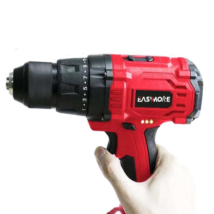 18V 13mm battery pack electric drill Li-ion DC Waterproof charger Cordless Drill