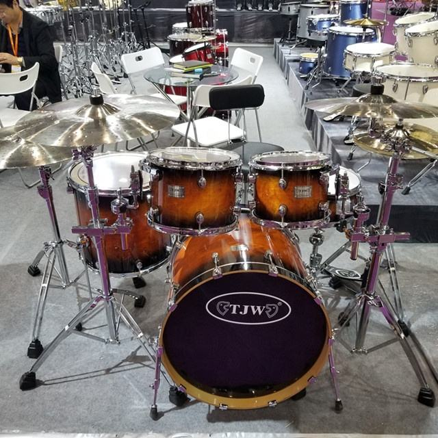 JW225-T163 New professional lacquer drum set