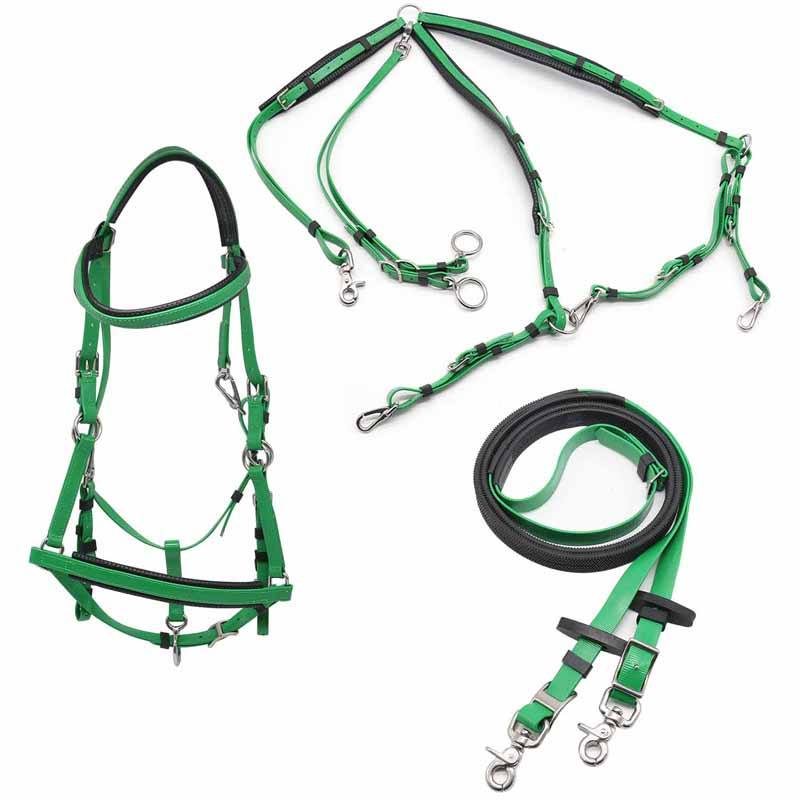 Horse Endurance Bridle Full Set,Saddles And Tack PVC Endurance Saddle Set