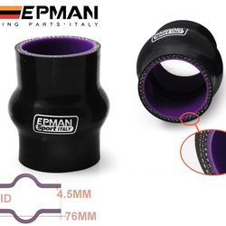EPMAN 4-Ply Silicone Hump Coupler Hose Reinforced Turbo Coupling For Honda For VW For Ford For Audi