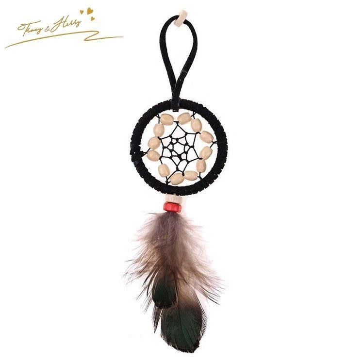 2019 High quality lucky dreamcatcher key chain fashion key ring and chain