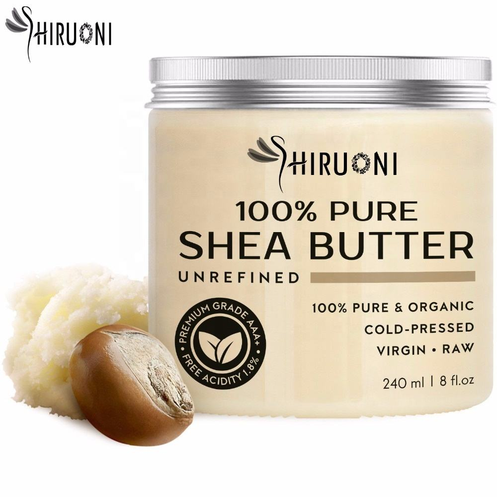 Private Label Organic Repairing Moisturizing Brightening Shea Butter for Face and Body