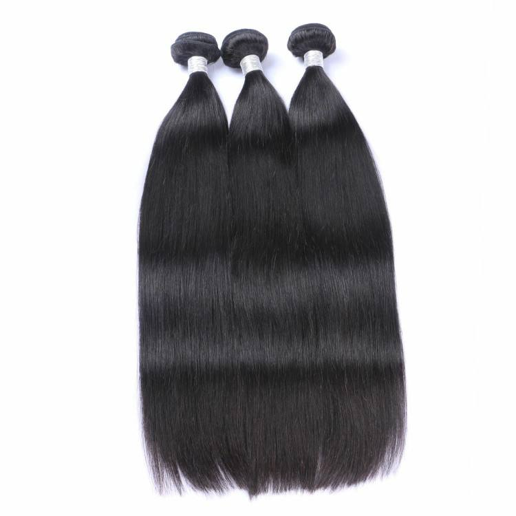 kbl brazilian human hair virgin cuticle aligned hair straight mink hair extension wholesale