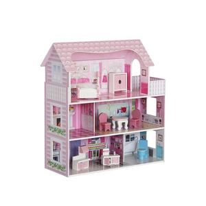 Hot Selling Kid DIY Beginner Miniature Adult Wooden Doll Houses
