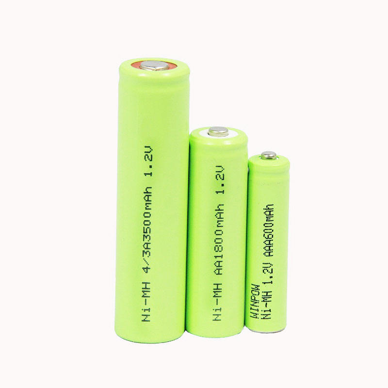 1.2V rechargeable battery Ni-MH AA 1200mAh AAA 900mAh battery pack