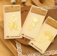 Custom Gold Plating Cutout Bookmark