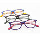 Logo Customization [ Glasses China ] High Quality Eyeglasses Wholesale DC8004 High Quality Kids Acetate Eyewear Eyeglass Frames With Spring Hinges Children Glasses Frame China