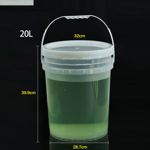 20L Tap 5 Gallon Multi-Functional Coaches Bucket Cooling Kegs Stripe Plastic Container