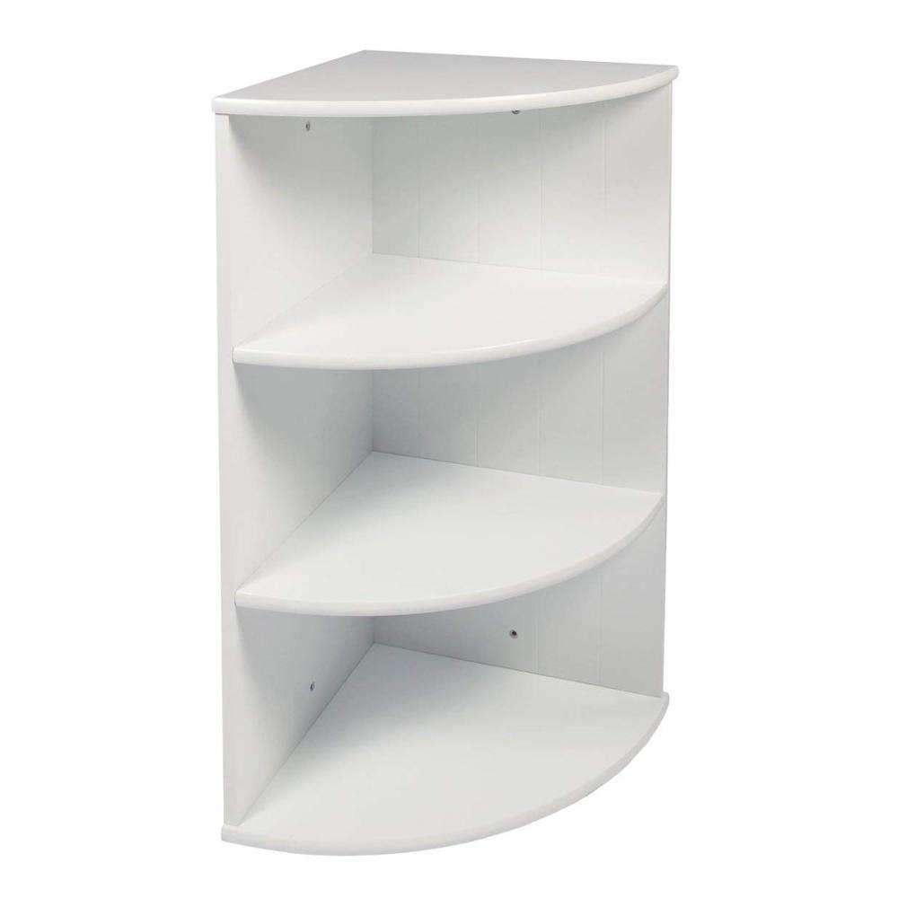 Пользовательские Топ Quality3 уровня полки настенный плавающий угловой Полка Шкаф для ванной комнаты