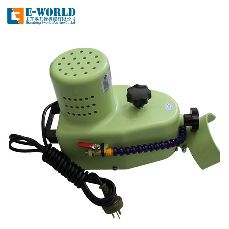 Portable economic small glass round straight beveling edging machine
