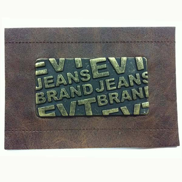 Real Leather Label & PU Leather Label & Metal Leather Label