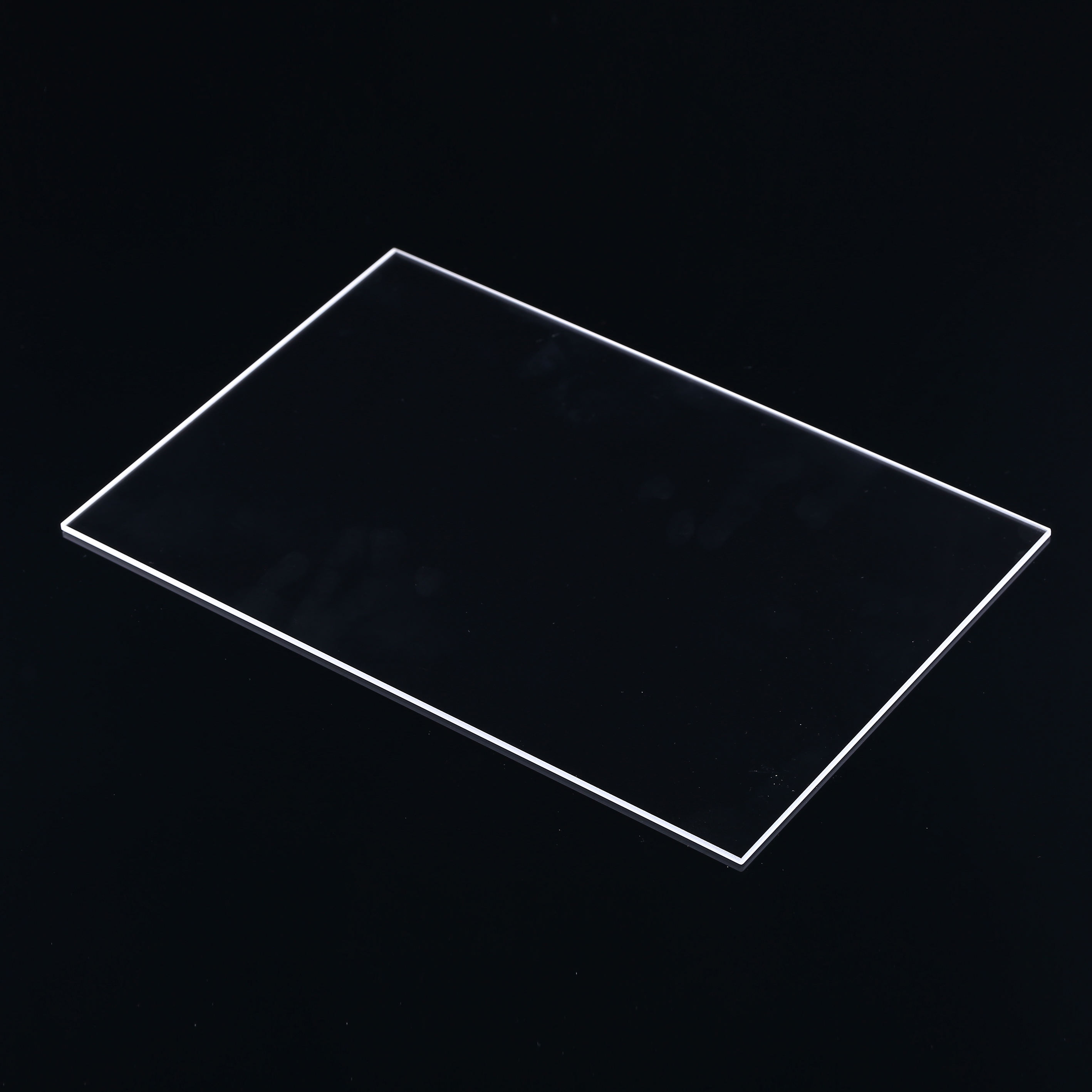 Manufacturer price High quality thick clear fused silica quartz thin glass plates sheet
