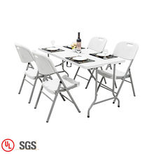Commercial Quality Garden Outdoor Furniture Dining Plastic Table And Chair Set