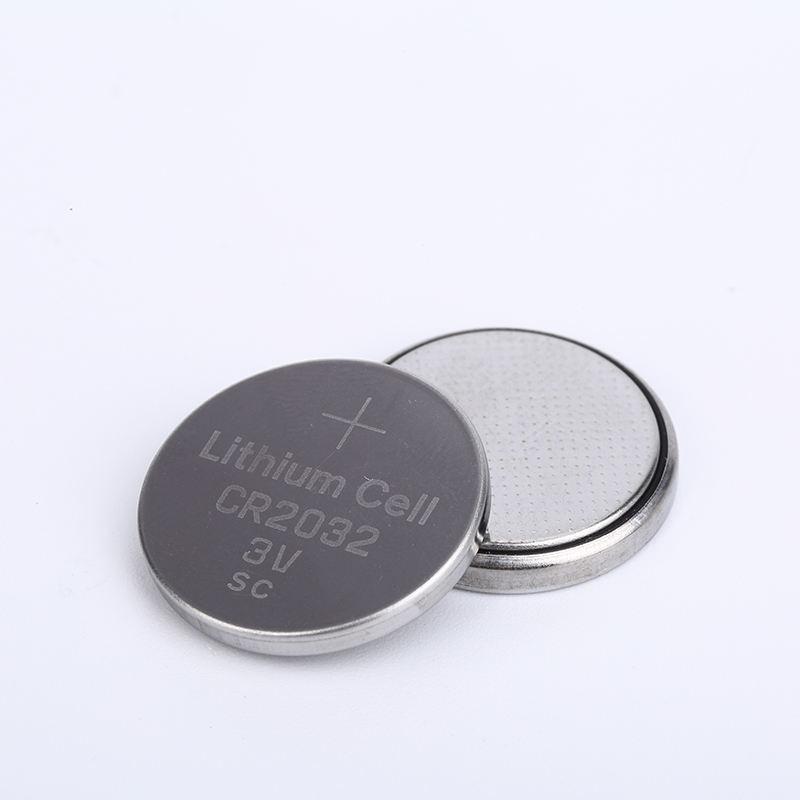 Baterías 2032 batería 3 V batería de litio recargable cr2032