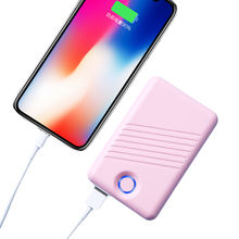 Creative Usb Port Charger Coin Battery Power Bank 10000 Mah Pd