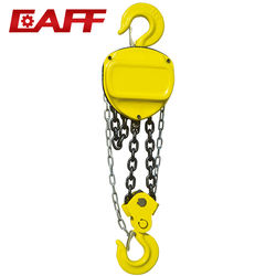 China High Quality  Factory Price HSC 3t 5t 10t 3M/6M Chain Hoist