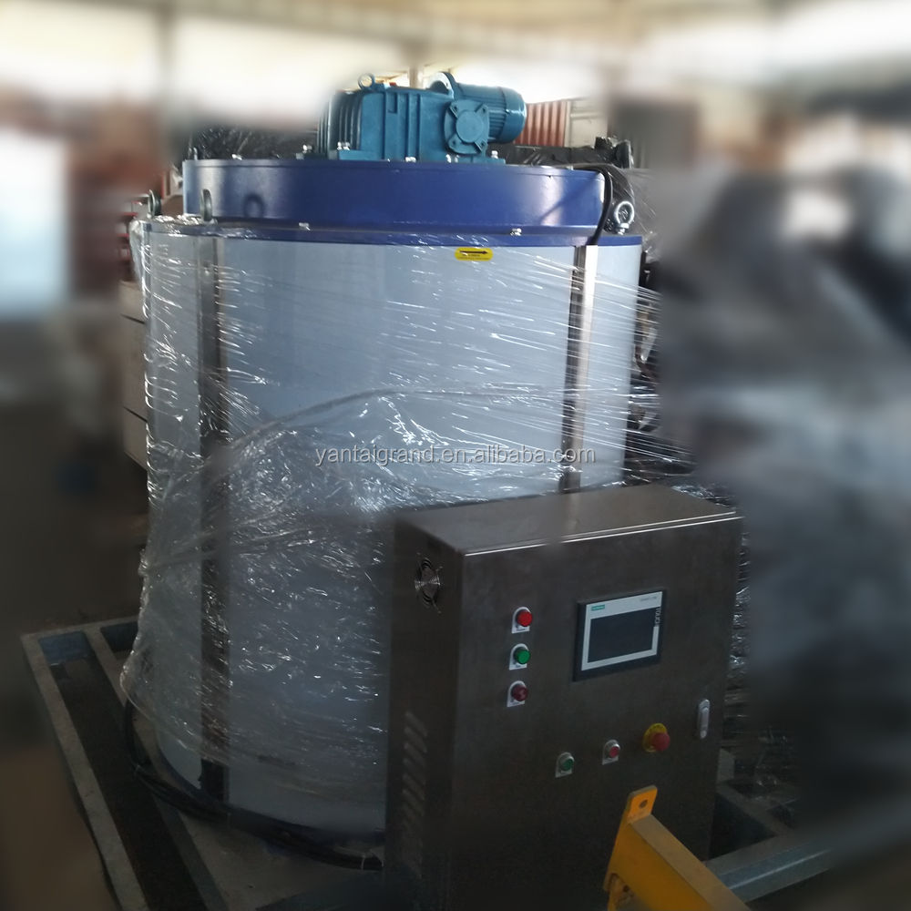 300KG/Day evaporated ice machine fresh water flake ice maker machine