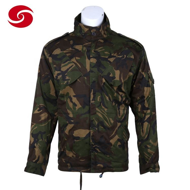 Wholesale army uniform British camouflage DPM military jacket for Botswana
