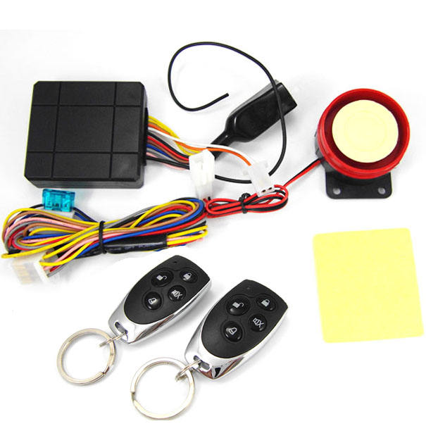 Hot anti-hijacking waterproof motorcycle security alarm/one way motorcycle alarm system 12V