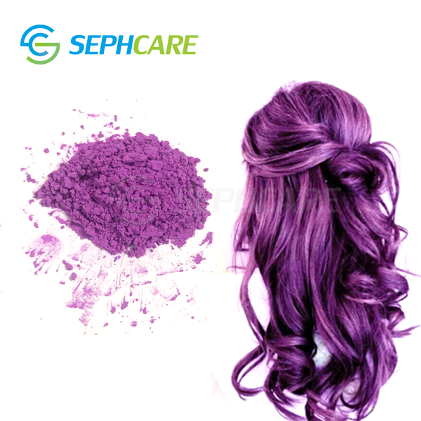 Sephcare thermochromic purple hair color change pigment