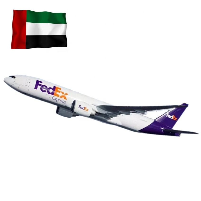 DHL UPS FEDEX Courier DDU DDP service from china to Dubai UAE