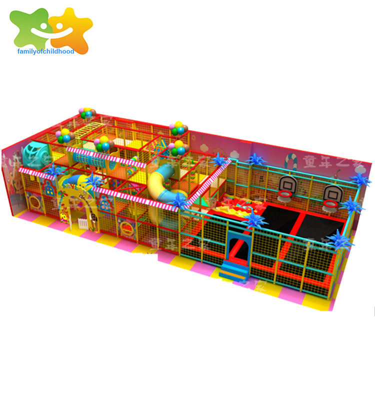 Large shopping mall supermarket digital children's indoor playground area equipment