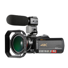 High quality super 4k digital video camera with 3.0'' touch display digital video camcorder