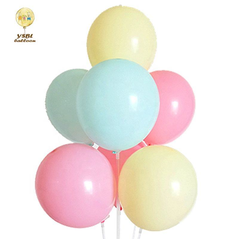 2019 New product ideas 18inch macaron color balloon for wedding party decorations