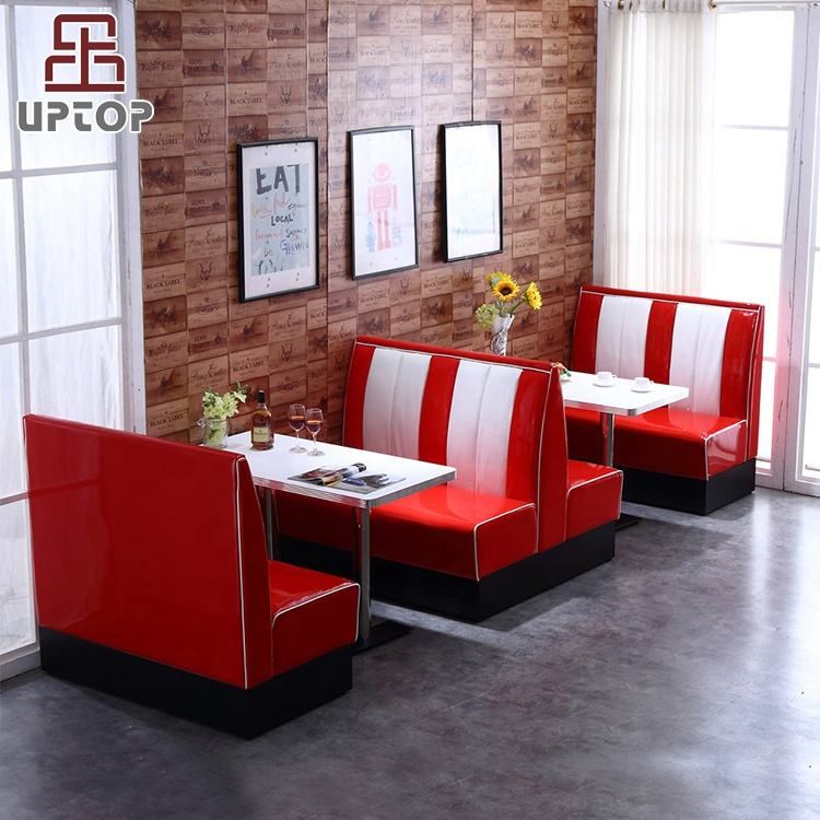 (SP-CT833) UPTOP Factory Price Restaurant Bench Seat For Restaurant Cafe Coffee Shop