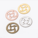 Logo Customization Alloy Findings Alloy Jewellery Findings 23mm Diy Zinc Alloy Jewelry Gears Jewellery Findings