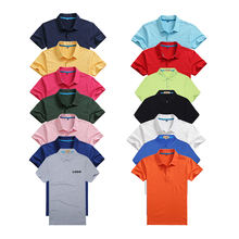 top big brand POLO shirt Men's solid color short sleeve polo shirt